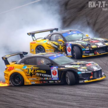 Formula Drift Japan in Fuji Speedway